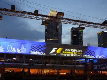Singapore 2017 proiezioni scenografiche pubblicitarie