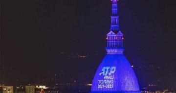 ATP Finals - Proiezione mole Antonelliana di Torino