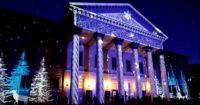 Proiezione Natalizia mappata sul teatro di Como - Magic Light Festival 2013