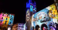 Video mapping Natalizio Como Magic Light Festival