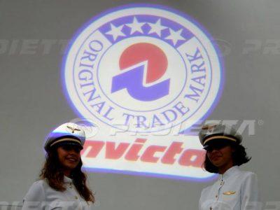 Proiezione del Logo Invicta