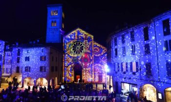 Chiesa di S. Fedele - Video mapping Natalizio Como Magic Light Festival