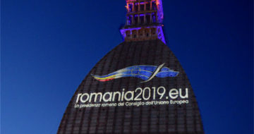Celebrazione Romania2019.eu - Mole Antonelliana