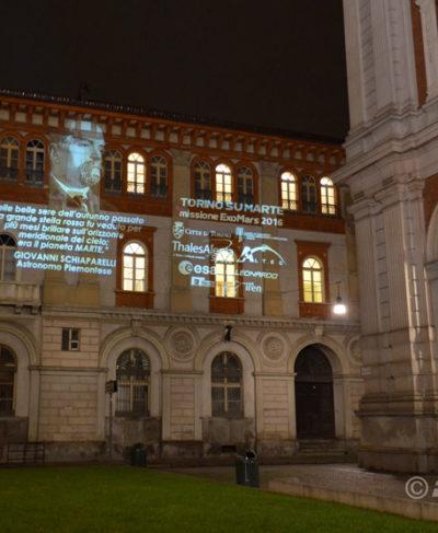 Proiezione evento Exo Mars Torino