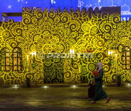 Proiezioni celebrative Ramadan - Doha