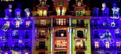 Video Mapping Natalizio a Montreux