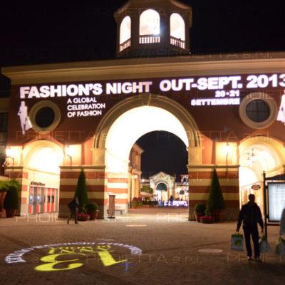 Outlet village di serravalle evento Fashion Night