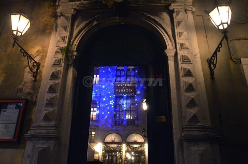 Proiezioni sul Casinò di Venezia